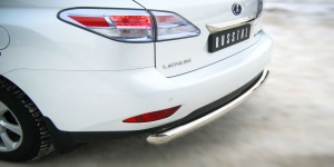 Lexus RX270/350/450 защита заднего бампера d76 LRXZ-000407